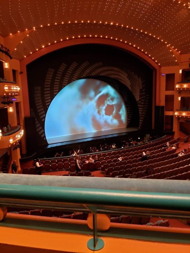 Seating view for Procter And Gamble Hall at the Aronoff Center Section Loge C Row A Seat 107