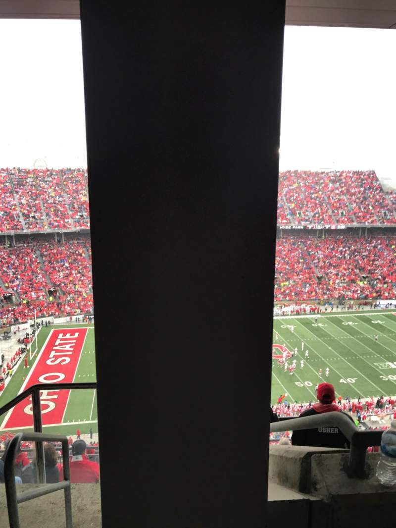 Seating view for Ohio Stadium Section 19D Row 7 Seat 1