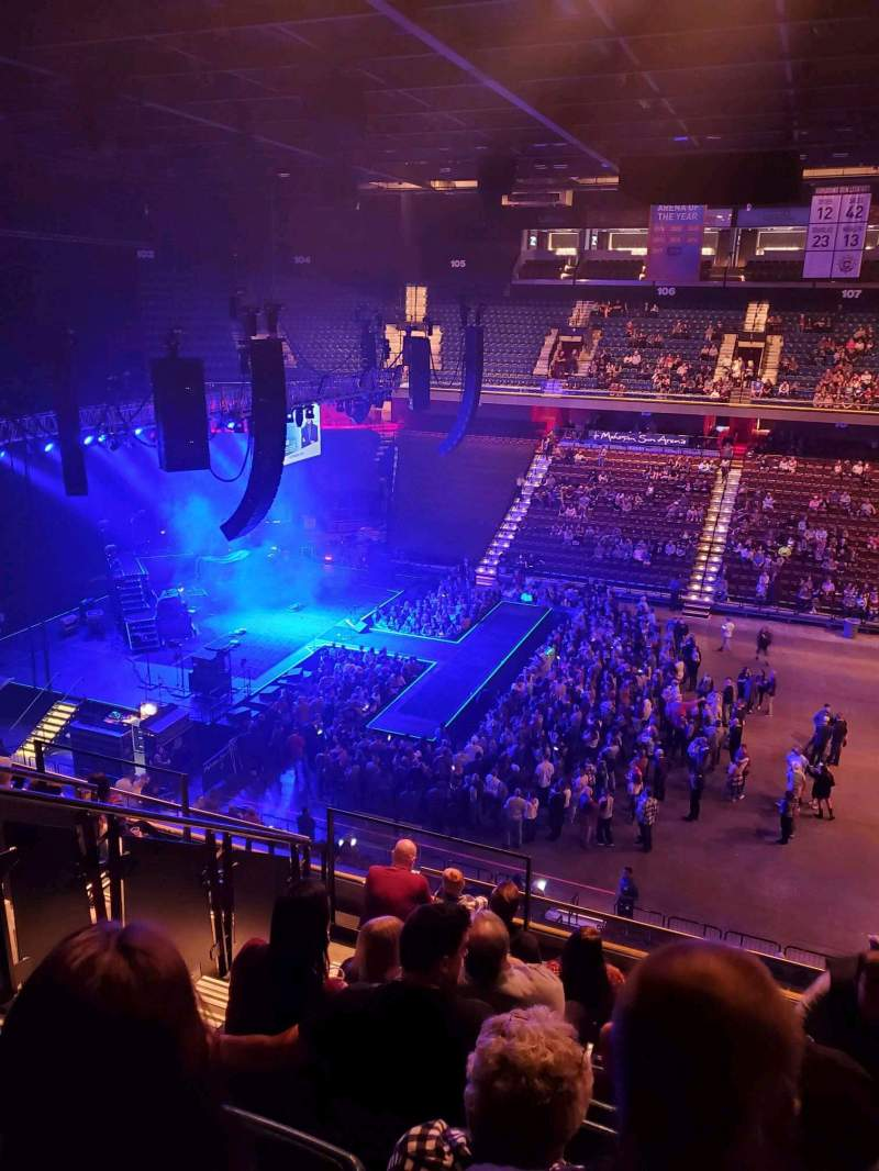 Seating view for Mohegan Sun Arena Section 117 Row j Seat 15