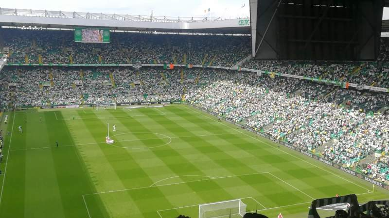Seating view for Celtic Park Section 418 Row y Seat 22