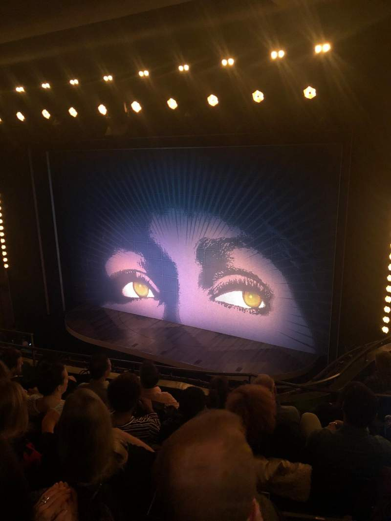 Seating view for Lunt-Fontanne Theatre Section Front Mezzanine R Row E Seat 18