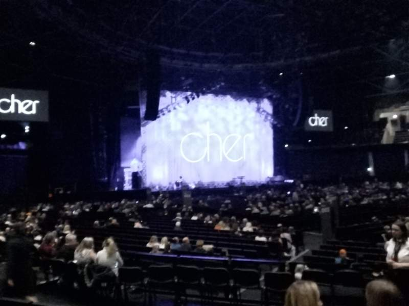 Seating view for The SSE Hydro Section 052 Row H Seat 65