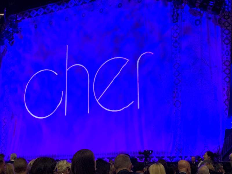 Seating view for The SSE Hydro Section 011 Row H Seat 132