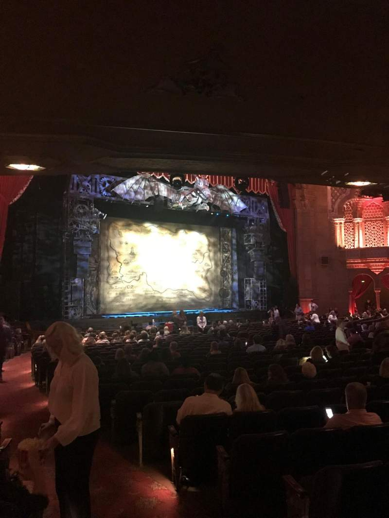 Seating view for Fox Theatre (Atlanta) Section Orchestra L Row CC Seat 3