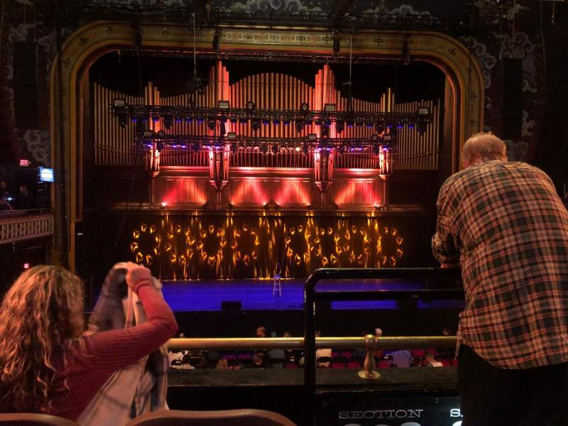 Seating view for The Tabernacle Section 202 Row C Seat 1