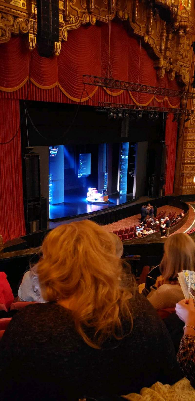 Seating view for The Fabulous Fox Theatre (St. Louis) Section Mezzanine 1 Row DD Seat 59