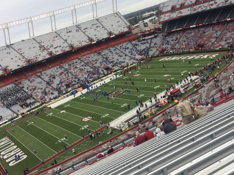 Seating view for Williams-Brice Stadium Section 302 Row 27 Seat 27