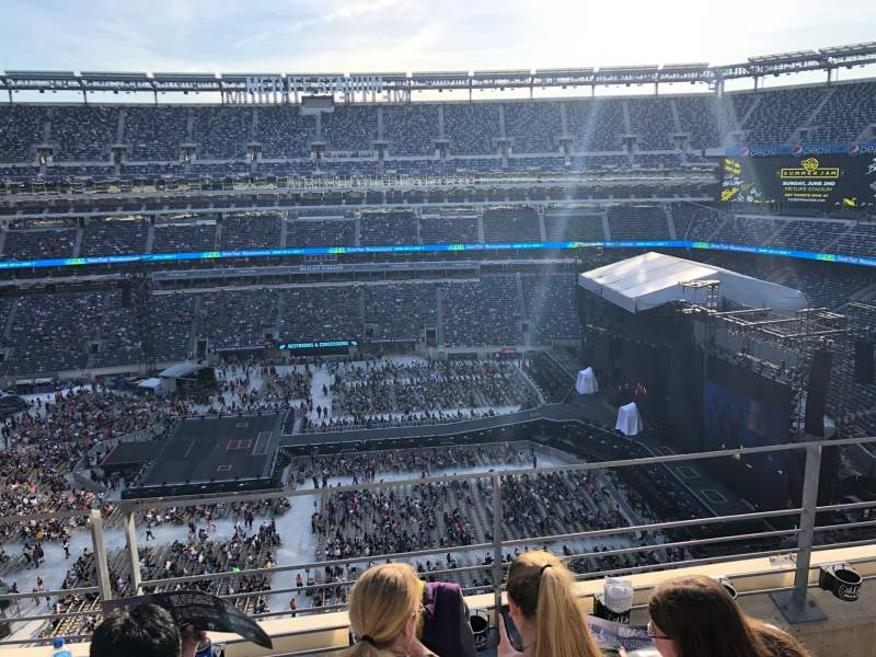 Seating view for MetLife Stadium Section 313 Row 3 Seat 12
