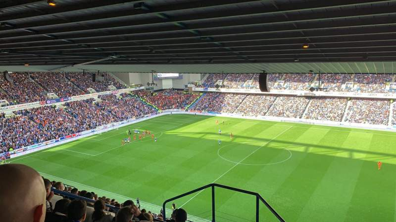 Seating view for Ibrox Stadium Section CD2 Row T Seat 95