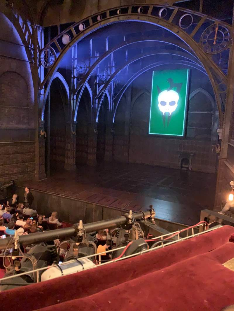 Seating view for Palace Theatre (West End) Section Dress Circle Row A Seat 6