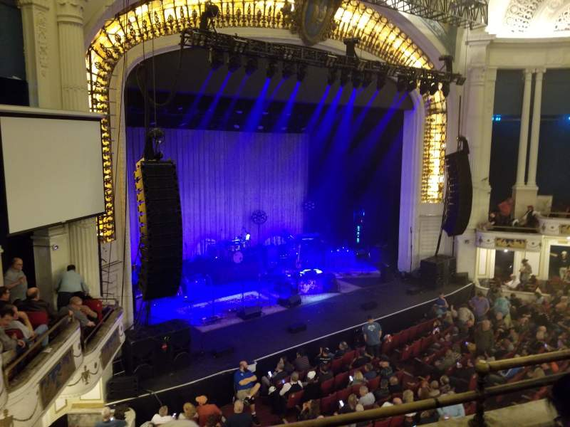 Seating view for Orpheum Theatre (Boston) Section Mezzanine R Row C Seat 7