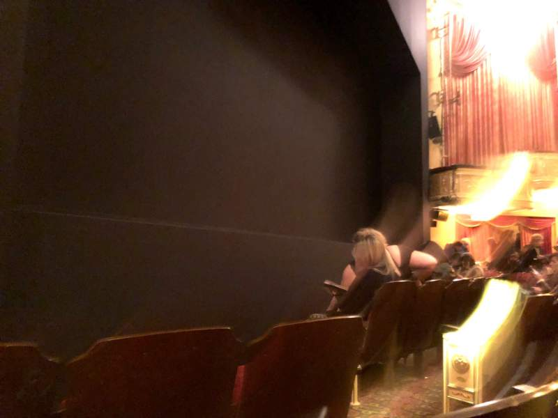 Seating view for Bernard B. Jacobs Theatre Section Orchestra L Row C Seat 7