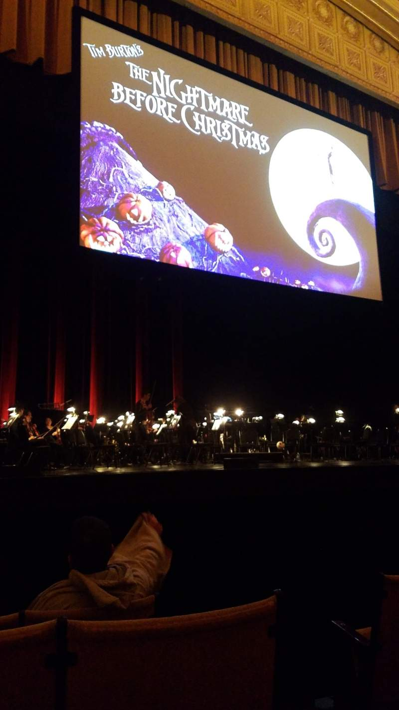 Seating view for Auditorium Theatre Section Orch L Row F Seat 502