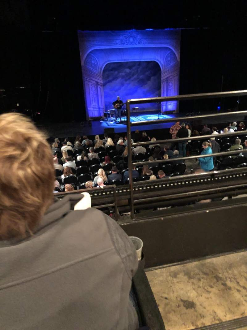 Seating view for Austin City Limits Live at The Moody Theater Section Mezzanine 3 Row B Seat 307