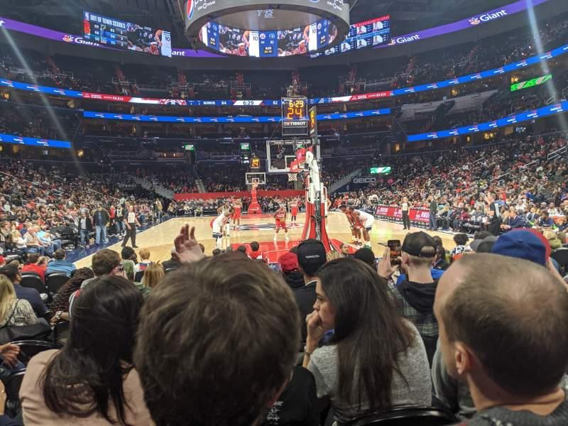 Capital One Arena Section Box West Row Jjj Seat 11 Washington