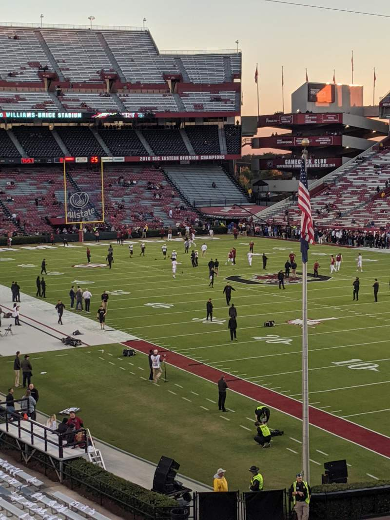 Seating view for Williams-Brice Stadium Section 17
