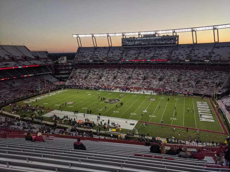 Seating view for Williams-Brice Stadium Section 507 Row 23 Seat 8