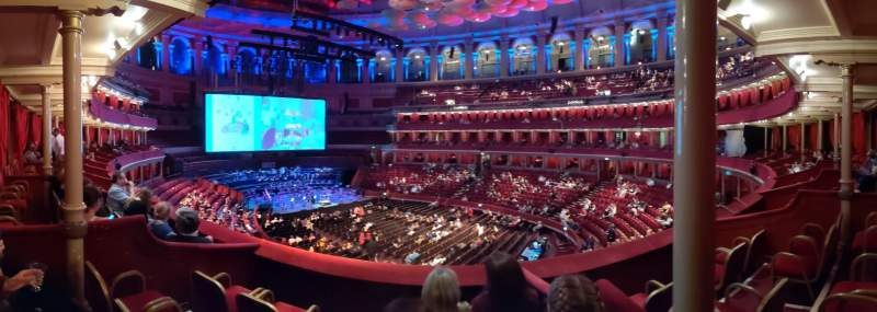 Seating view for Royal Albert Hall Section Grand Tier 14 Row 3 Seat 12