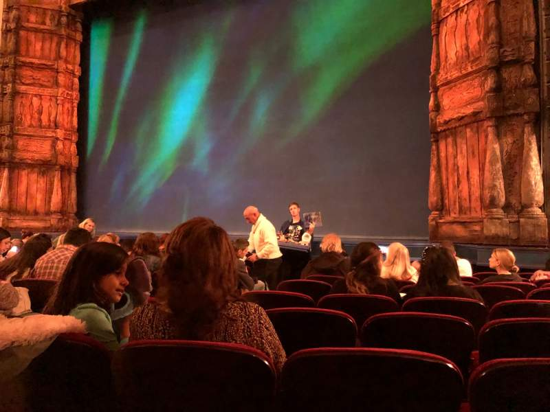 Seating view for St. James Theatre Section Orchestra R Row J Seat 8