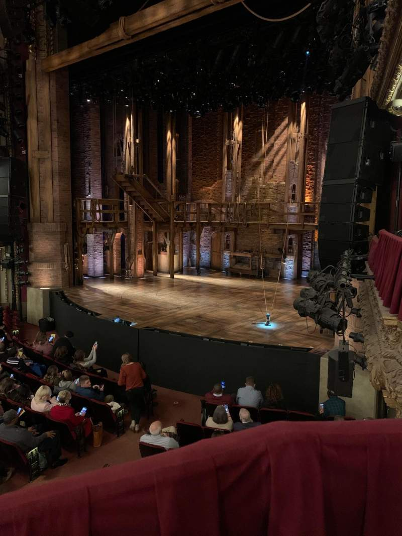 Seating view for CIBC Theatre Section Dress Circle Box 2 Row BX2 Seat 204
