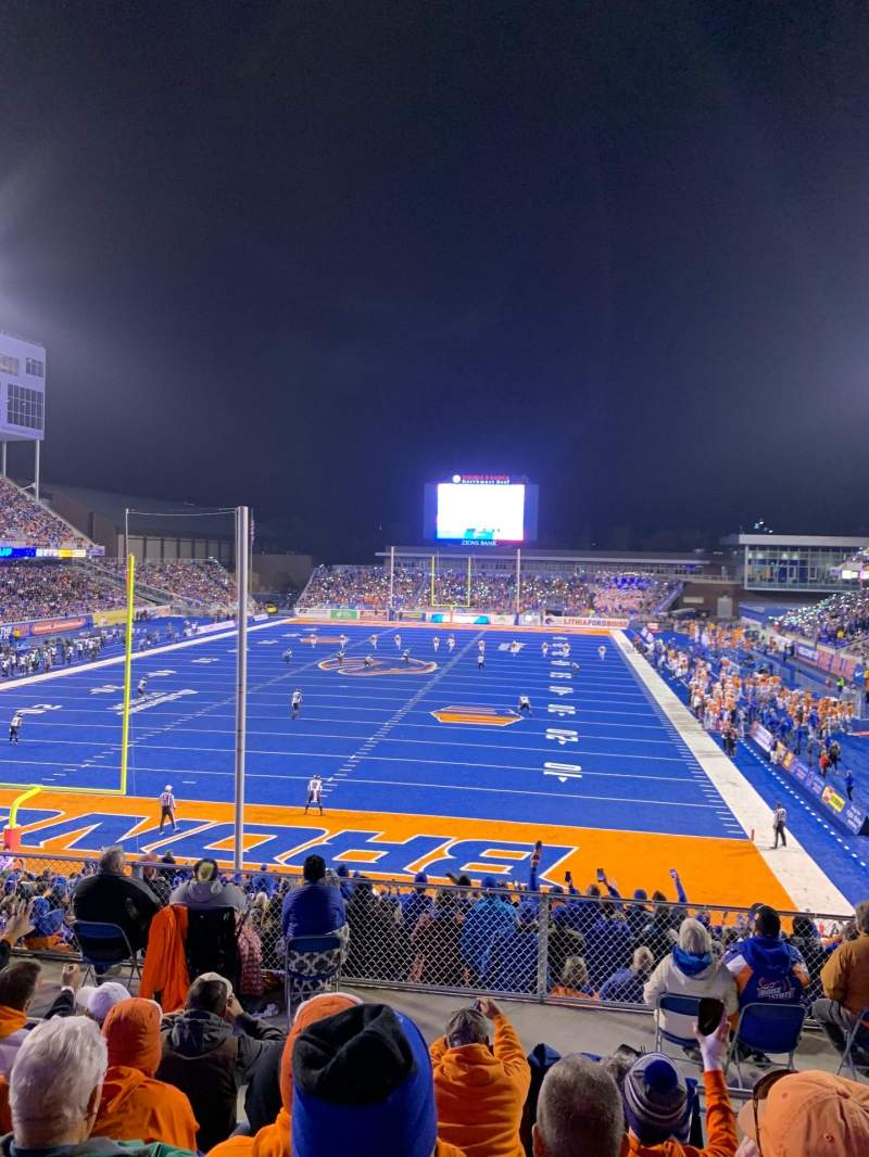 Seating view for Albertsons Stadium Section 132 Row N Seat 17