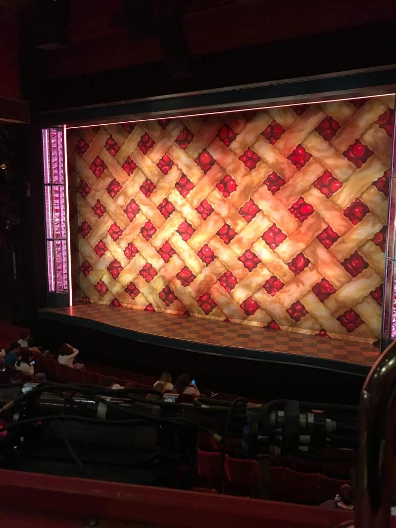 Seating view for Adelphi Theatre Section Dress Circle Row A Seat 8