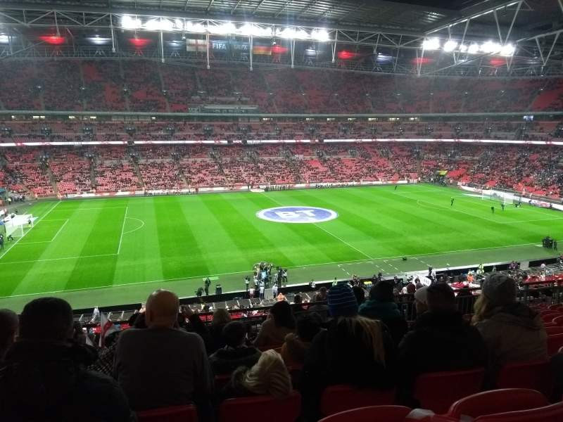 Seating view for Wembley Stadium Section 203 Row 15 Seat 36