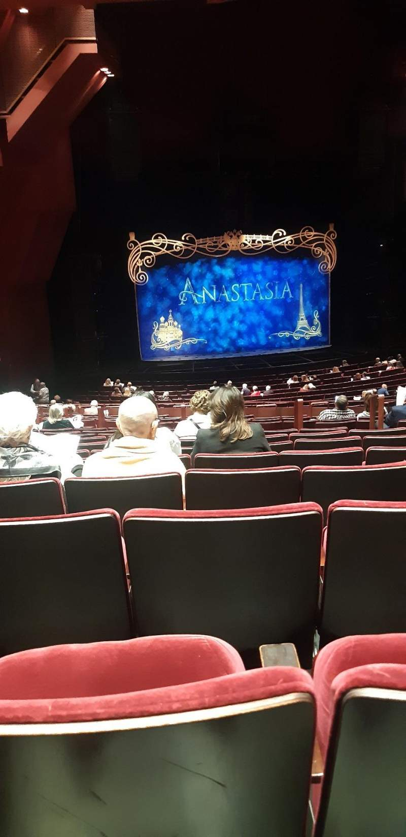 Seating view for segerstrom hall Section Orchestra Row T Seat 115