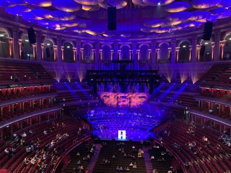 Seating view for Royal Albert Hall Section Rausing Circle U Row 3 Seat 94
