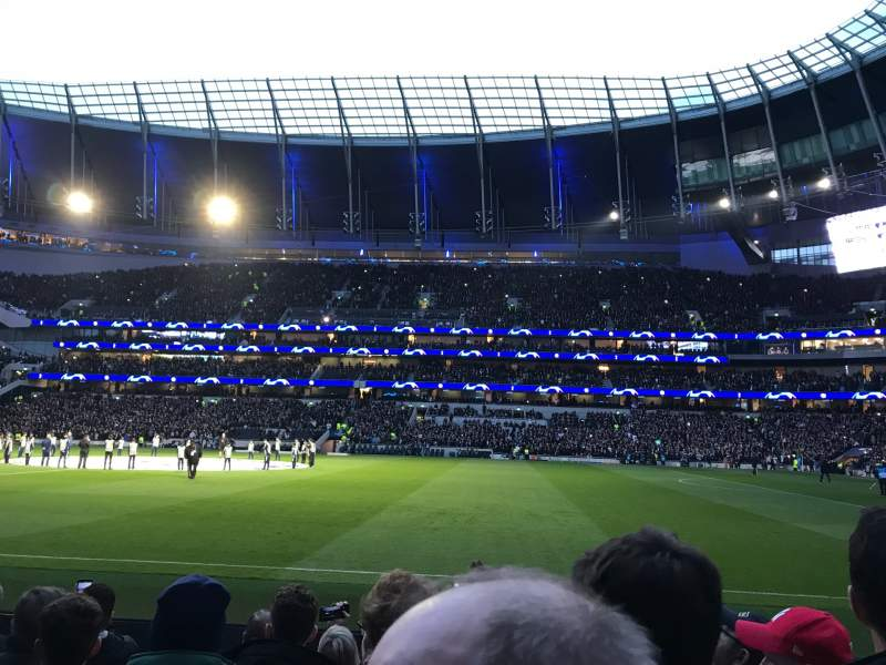 Seating view for Tottenham Hotspur Stadium Section 119 Row 6 Seat 594
