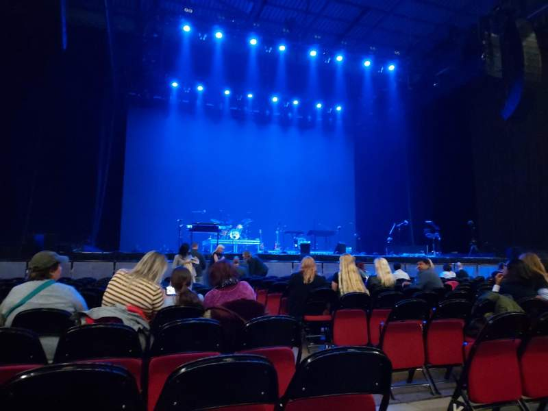 Seating view for First Direct Arena Section B Row N Seat 15 and 16