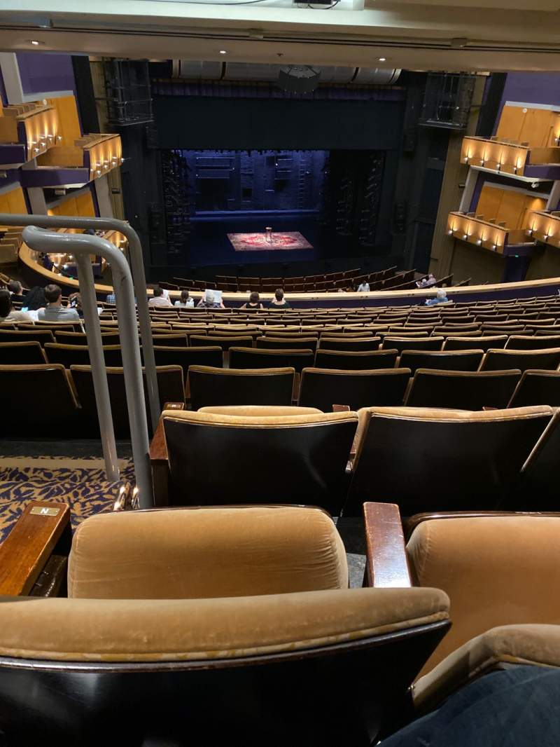 Seating view for Ahmanson Theatre Section Mezzanine Row P Seat 32