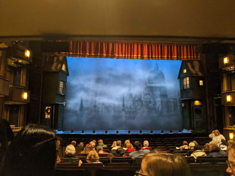 Seating view for Goodman Theatre - Albert Theatre Section Aisle 3 Row P Seat 23