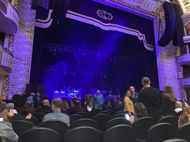 Seating view for The Met Philadelphia Section Orchestra 3 Row KK Seat 6