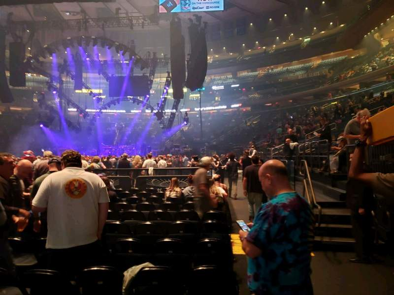 Seating view for Madison Square Garden Section Floor F Row 12 Seat 17