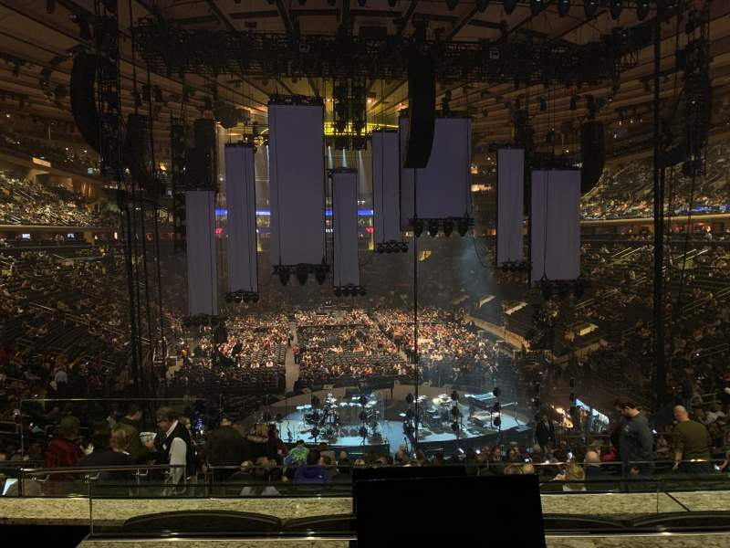 Seating view for Madison Square Garden Section Club 62 Row 3 Seat 2