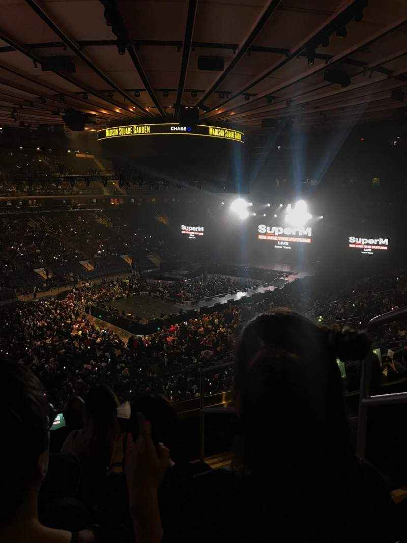 Seating view for Madison Square Garden Section 207 Row 5 Seat 19