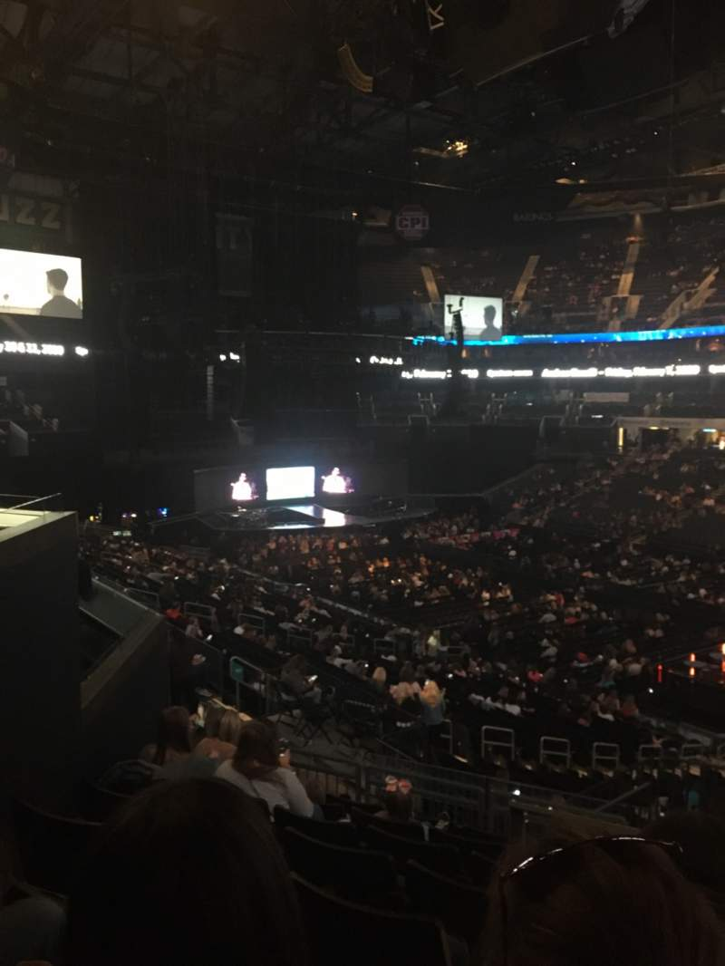 Seating view for Spectrum Center Section 103 Row CC Seat 34