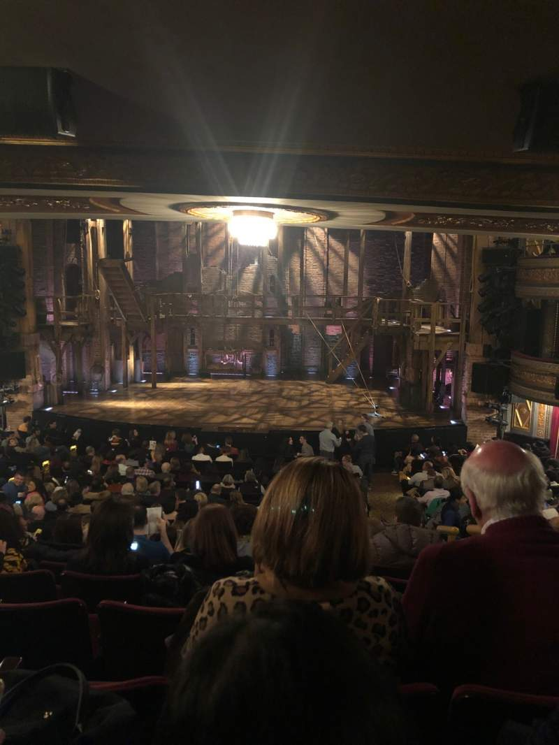 Seating view for Richard Rodgers Theatre Section Orchestra C Row T Seat 101