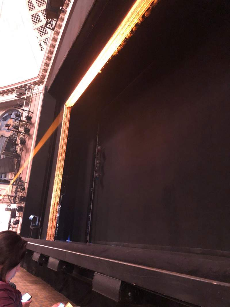Seating view for Ambassador Theatre Section Orchestra R Row Cc Seat 2