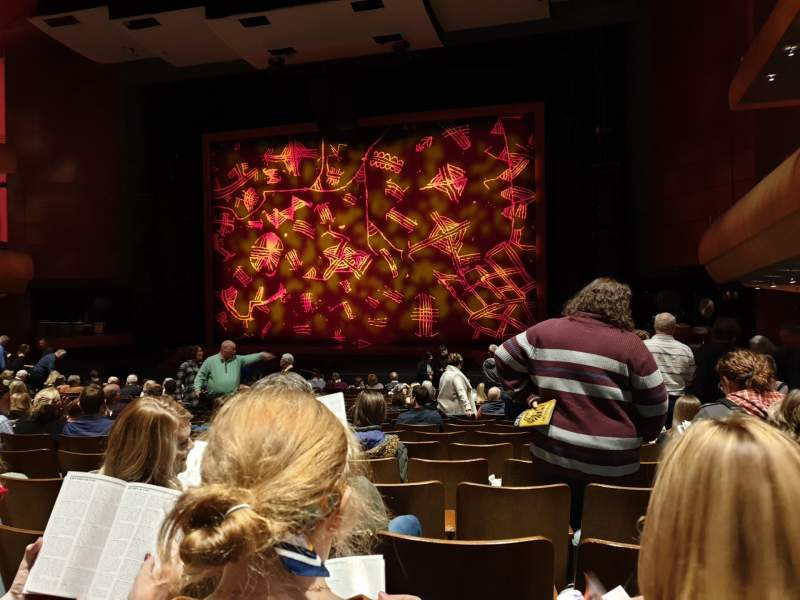 Seating view for DeVos Performance Hall Section Orchestra Row R Seat 10