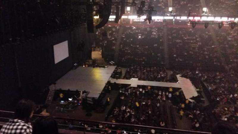 Seating view for AO Arena Section 202