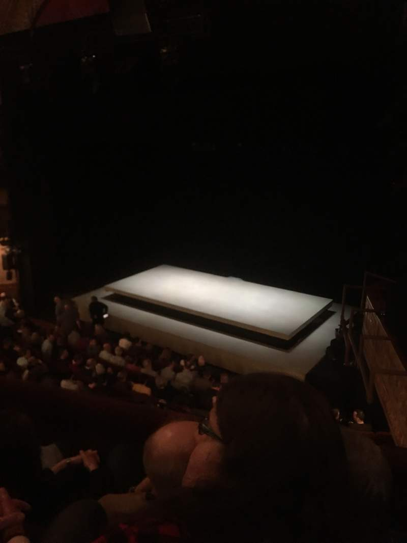 Seating view for Ethel Barrymore Theatre Section Front Mezzanine R Row C Seat 16
