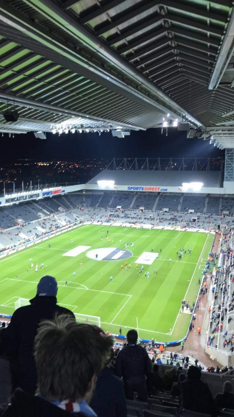 Seating view for St James' Park