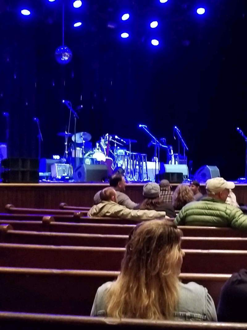 Seating view for Ryman Auditorium Section MF-7 Row M Seat 5