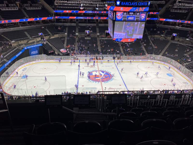 Seating view for Barclays Center Section 225 Row 10 Seat 26