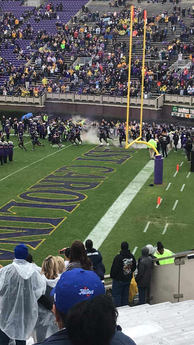 Seating view for Dowdy-Ficklen Stadium Section 13 Row X Seat 9