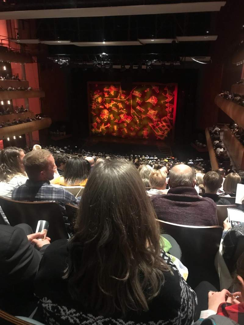 Seating view for DeVos Performance Hall Section Mezzanine Row P Seat 8
