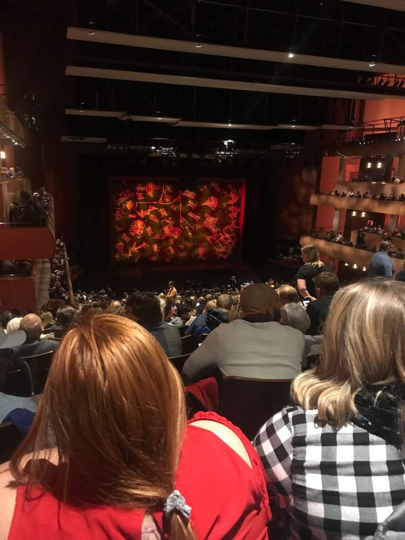 Seating view for DeVos Performance Hall Section Mezzanine Row S Seat 47