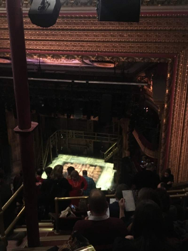 Seating view for CIBC Theatre Section Balcony R Row M Seat 2
